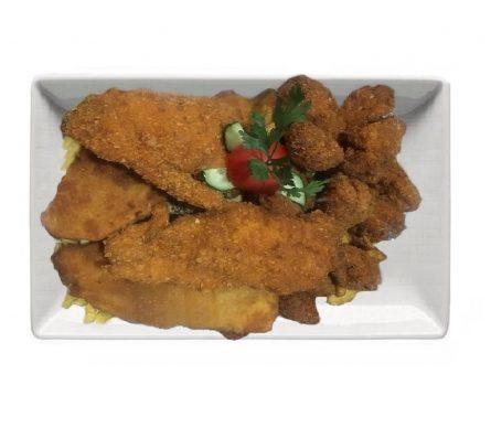 Csirke tál 4 személyre