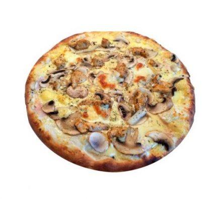 Hófehérke pizza