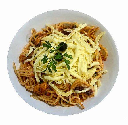 Frutti di mare spagetti