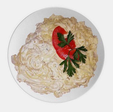 Quattro Formaggi spagetti
