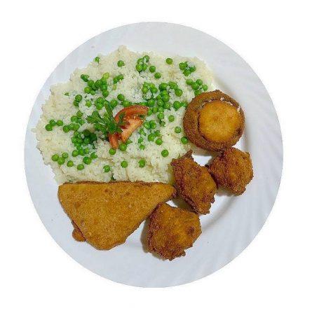 Vegetáriánus tál