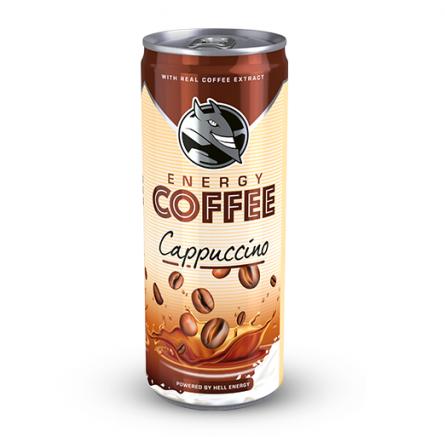 Hell Energy Coffee – Cappucino 250ml