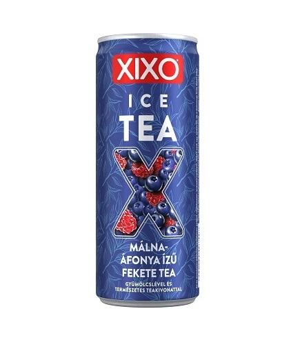 Xixo Ice Tea – Málna-áfonya ízű fekete tea